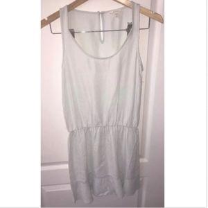 Soft Joie Womens Chambray Ruched Sleeveless Dress